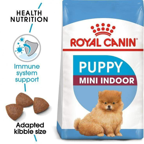 Mini Indoor Puppy Dog Food - Royal Canin - PetStore.ae