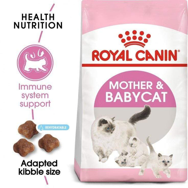 Feline Health Nutrition Mother & Babycat Food - Royal Canin - PetStore.ae