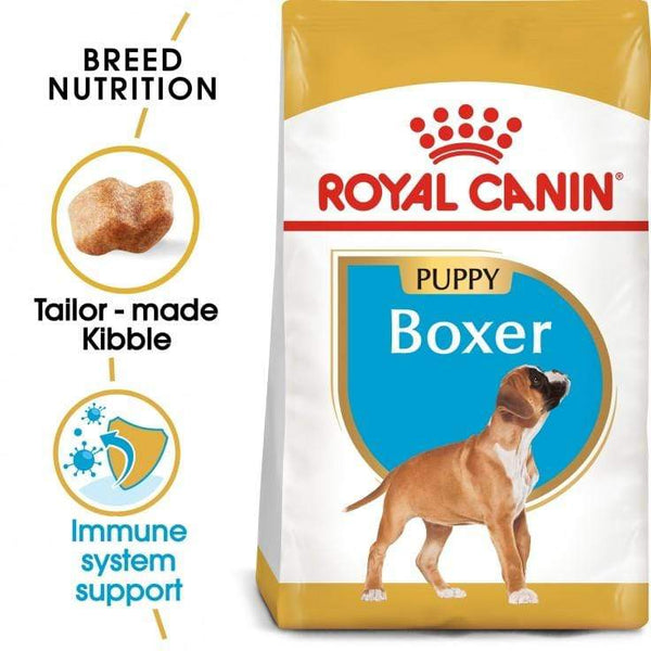 Boxer Puppy Dog Food - Royal Canin - PetStore.ae