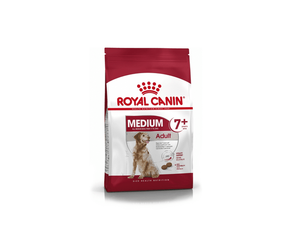Medium Adult 7+ Dog Food - Royal Canin - PetStore.ae