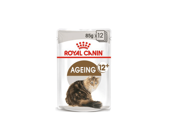 Ageing +12 Gravy Cat Food (Wet Food - Pouches) - Royal Canin - PetStore.ae