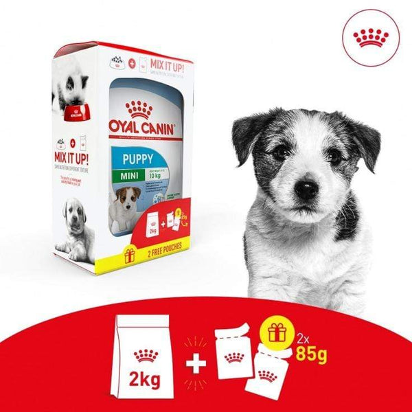 Puppy Mix Feeding Box Dog Food - Royal Canin - PetStore.ae