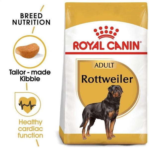 Rottweiler Adult Dog Food - Royal Canin - PetStore.ae