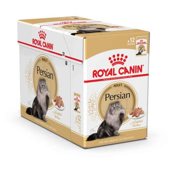 Feline Breed Nutrition Persian (WET FOOD - Pouches) - Royal Canin - PetStore.ae