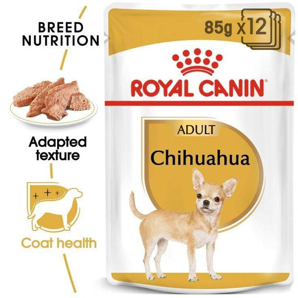 Chihuahua Adult Wet Dog Food Pouch - Royal Canin - PetStore.ae