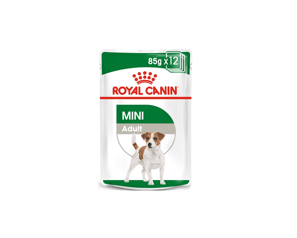 Mini Adult Wet Dog Food Pouch - Royal Canin - PetStore.ae