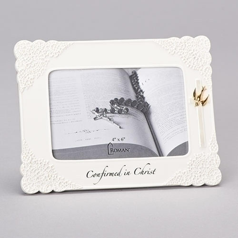 Confirmed in Christ Porcelain Frame