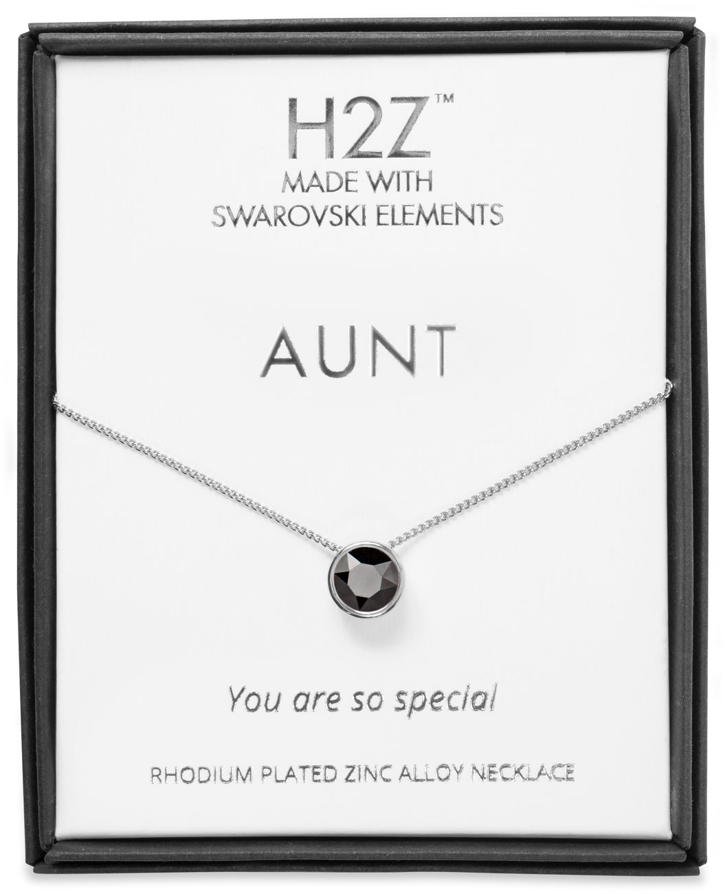 Aunt Jet Necklace H2Z