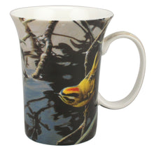 Load image into Gallery viewer, Bateman Golden Crowned Kinglet and Rhododendron Mug