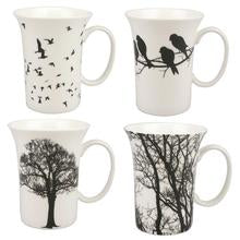 Load image into Gallery viewer, Eternal Silhouette Set of Four Mugs