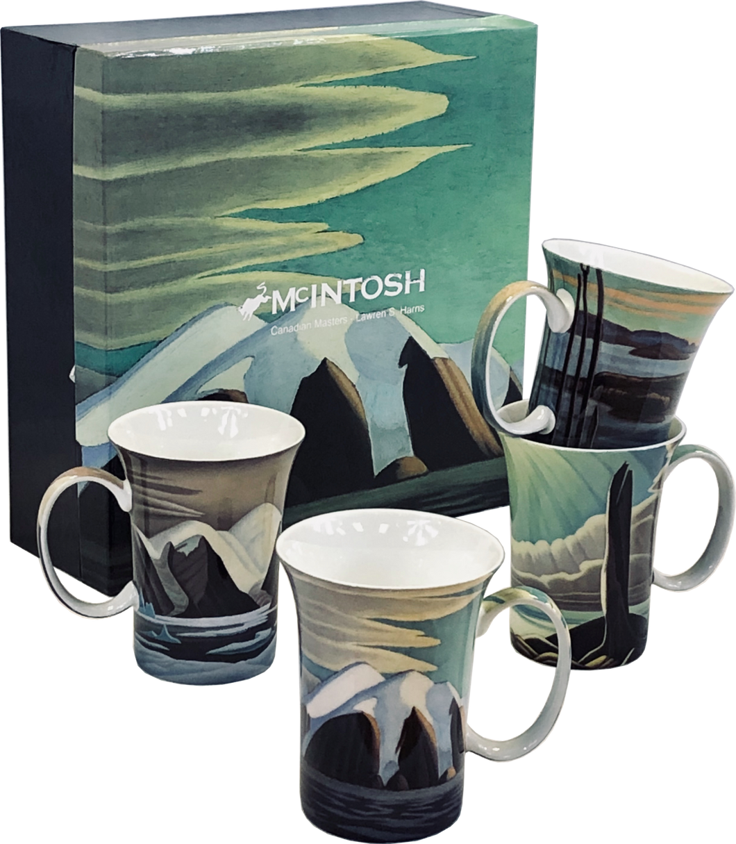 Lawren S. Harris Set of Four Mugs