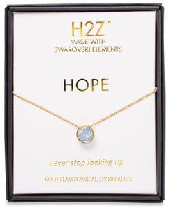 Hope Air Blue Opal Necklace H2Z