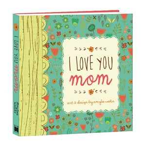 """I Love You Mom"" Mini Book"