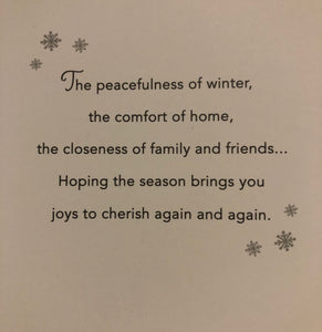 Warm Wishes at the Holidays Boxed Cards