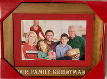 Load image into Gallery viewer, Our Family Christmas Frame