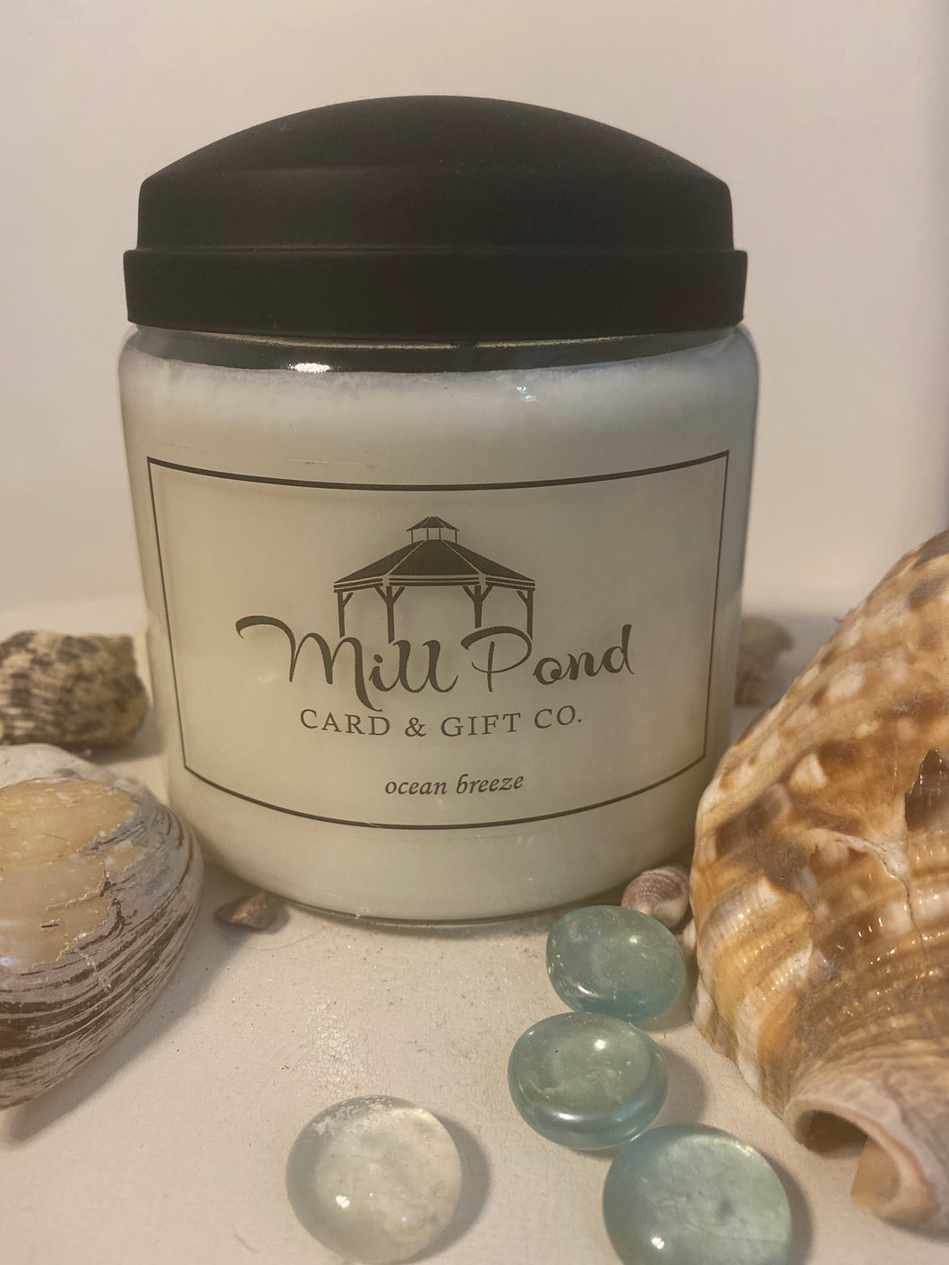 Ocean Breeze (Mill Pond Card & Gift Candle)