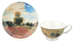 Claude Monet, Poppies Teacup and Saucer