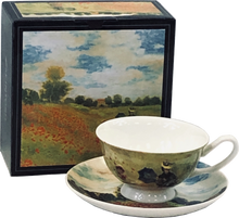 Load image into Gallery viewer, Claude Monet, Poppies Teacup and Saucer