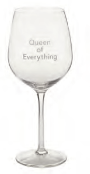 Wine Glass Queen of Everything