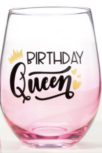 Birthday Queen Stemless 16oz.