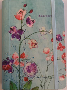 Fuchsia Blooms Address Book (4X6)