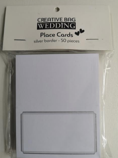Place Cards (50 Pieces Per Pack)