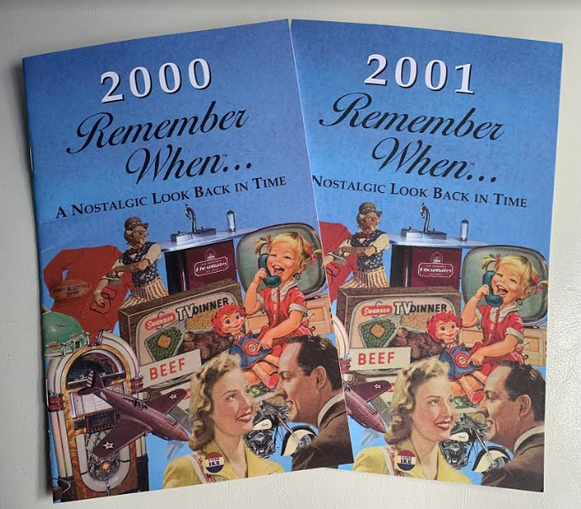 Remember When Booklet - 2000 & 2001