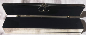 Silver Plated Marriage Certificate Holder.(engravable)