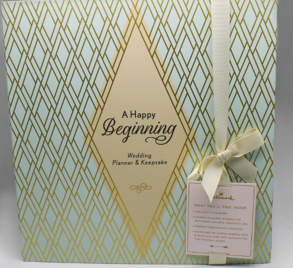 """A Happy Beginning"" Wedding Planner & Keepsake"