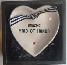 Load image into Gallery viewer, Maid of Honor Trinket Dish