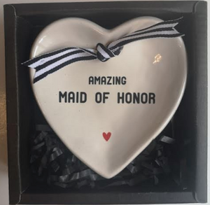 Maid of Honor Trinket Dish