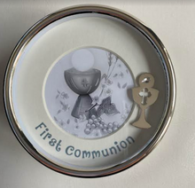 Load image into Gallery viewer, First Communion Keepsake Plated Box