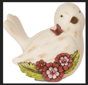 Simple Spirits July Bird Figurine