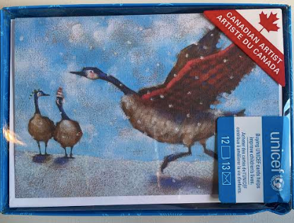 Canada Geese Christmas Boxed Cards
