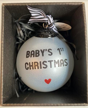 Load image into Gallery viewer, Baby's First Christmas Ornament