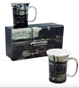 Tom Thomson Canoe Set Of Two Mugs