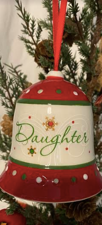 Daughter Bell Ornament