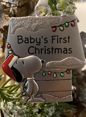 Snoopy Baby's First Christmas