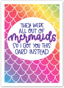 Mermaid - Birthday Card