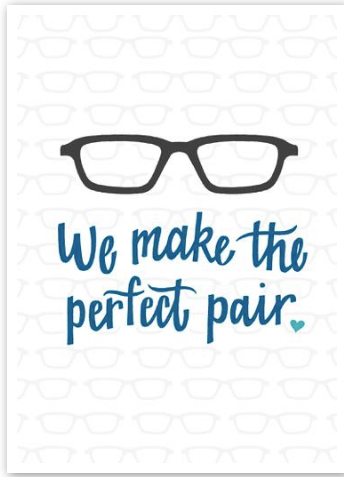 We Make The Perfect Pair Card