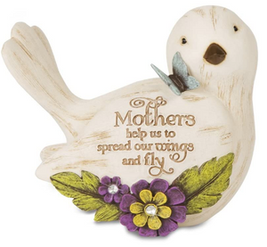 Mother Bird Figurine
