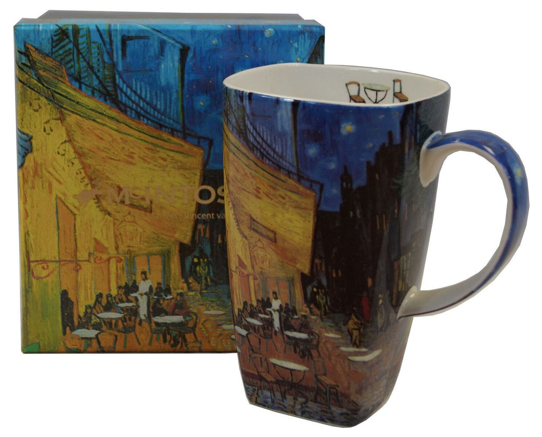 Vincent Van Gogh Cafe Terrace at Night Latte Mug