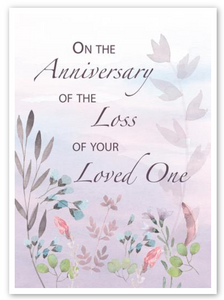 """Anniversary of Lost One"" Card"