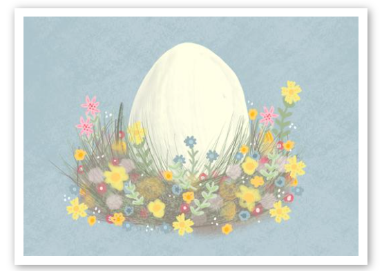 Egg Basket Card
