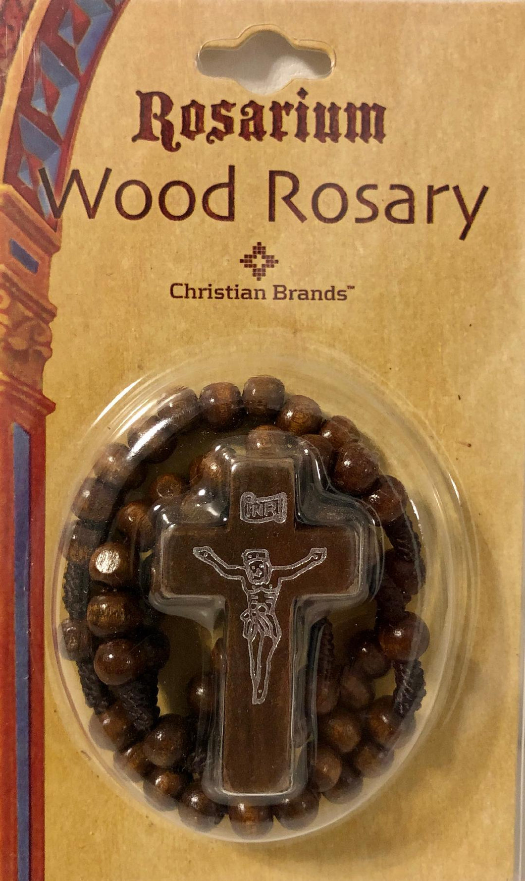 Wood Rosary - Brown