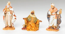 Load image into Gallery viewer, Fontanini Three Kings Figurine Set
