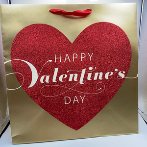 Happy Valentines Day Large Bag