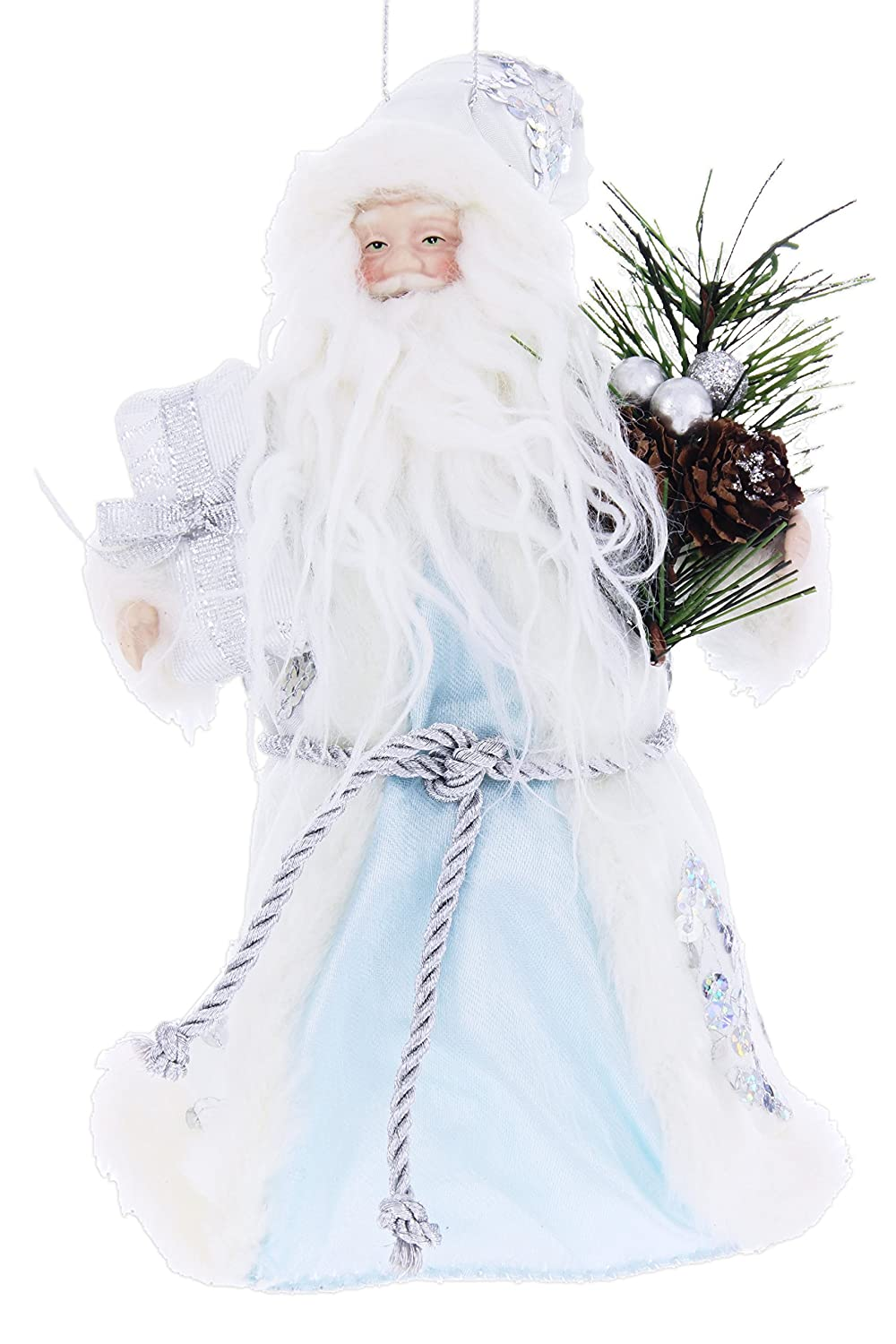 Contemporary Santa Ornament or Tree Topper