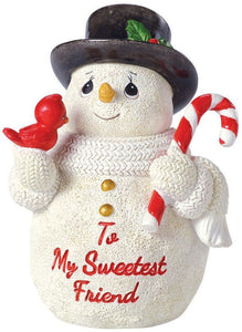 To My Sweetest Friend Figurine