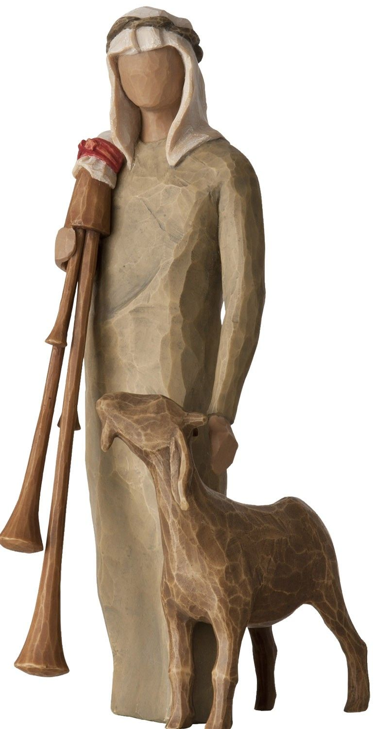 Zampognaro Willow Tree Figure